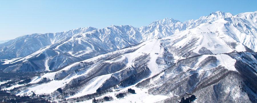 白馬八方尾根スキー場全景