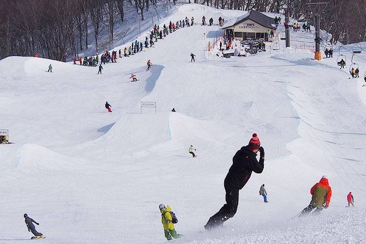 HAPPO BANKS THE SNOW PARK